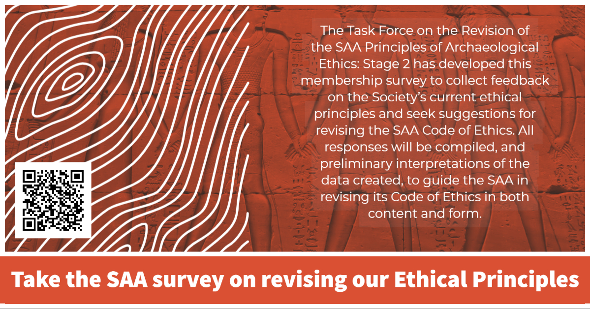 Ethics Survey social media graphic