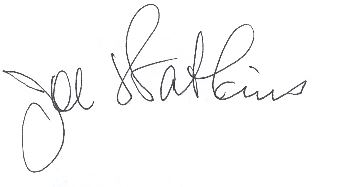 Joe Watkins digital Signature